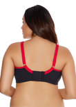 Goddess Sport Sports Bra Black
